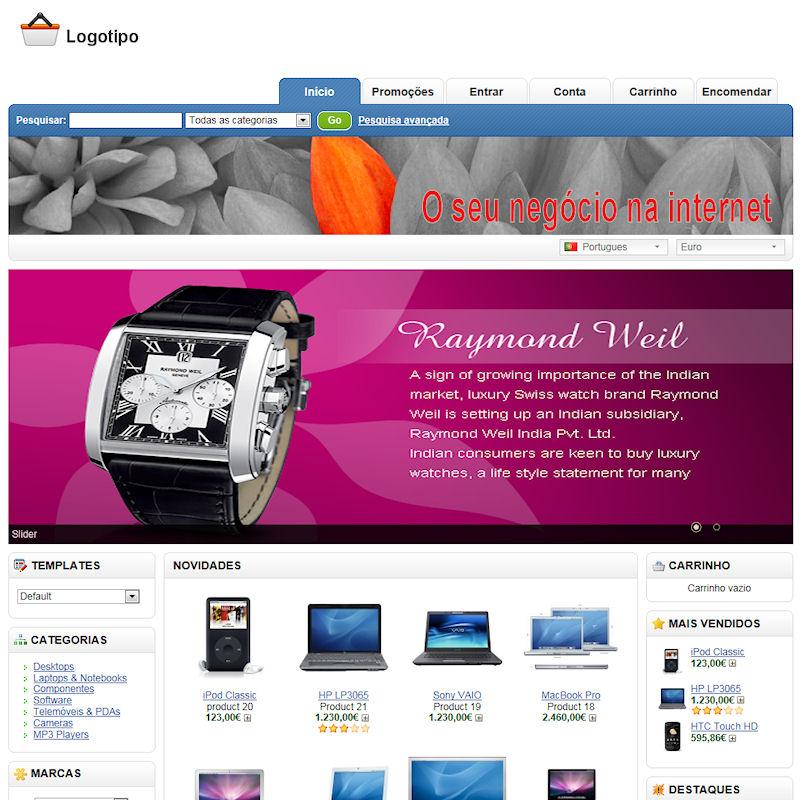 e-ecommerce e lojas online